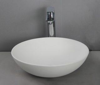 RBS020025 - Waskom solid surface wit 41x41x15 cm